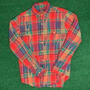 Polo Ralph Lauren plaid flannel